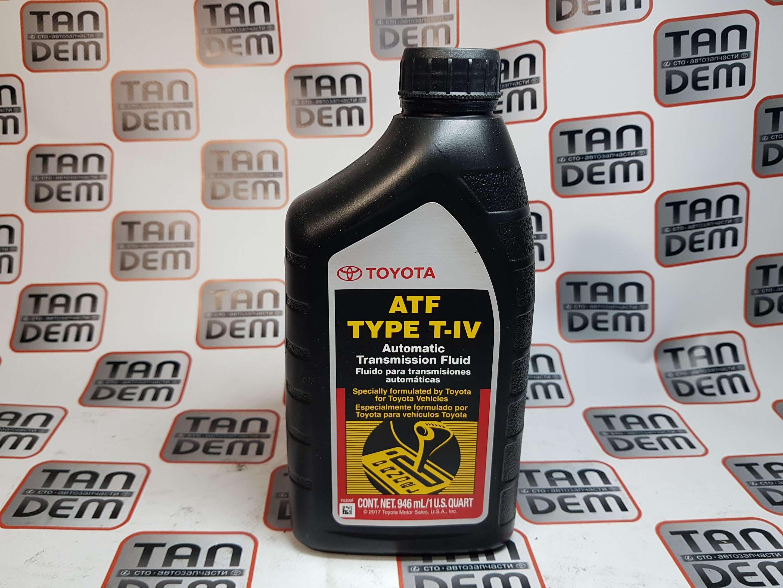 Жидкость АКПП TYPE T-IV 1л. 00279-000T4, 08886-81015, 08886-81016