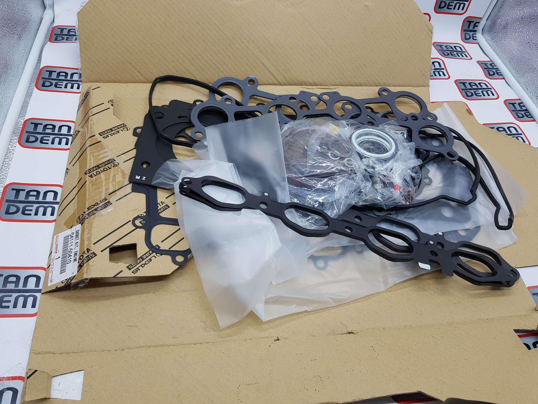 Комплект прокладок двигателя 04111-50410, 04111-50122, 04111-50380, 04111-50121, 04111-50120