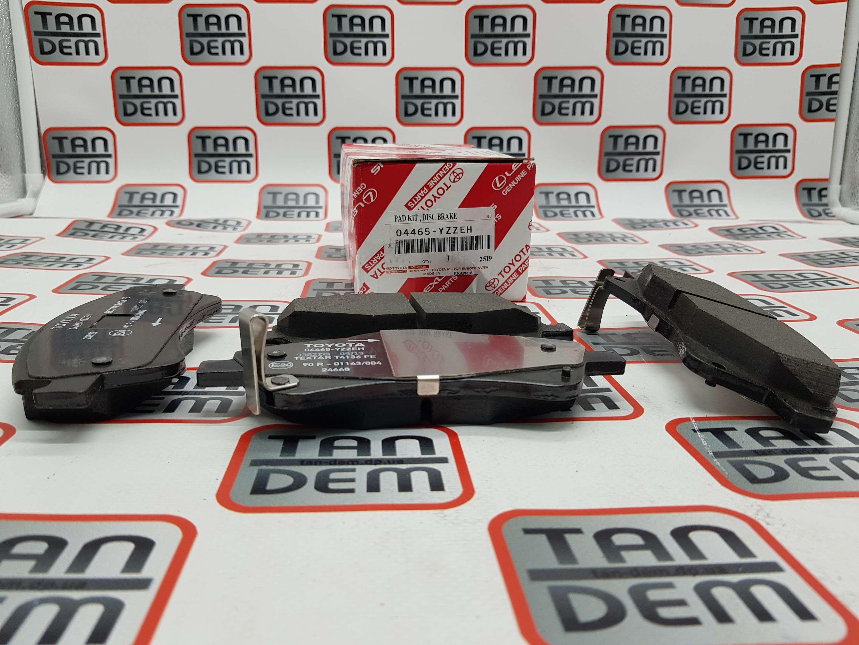 Колодки передние Avensis 09- 04465-YZZEH, 04465-02280, 04465-0F010, 04465-02190, 04465-YZZEE, 04465-0F011