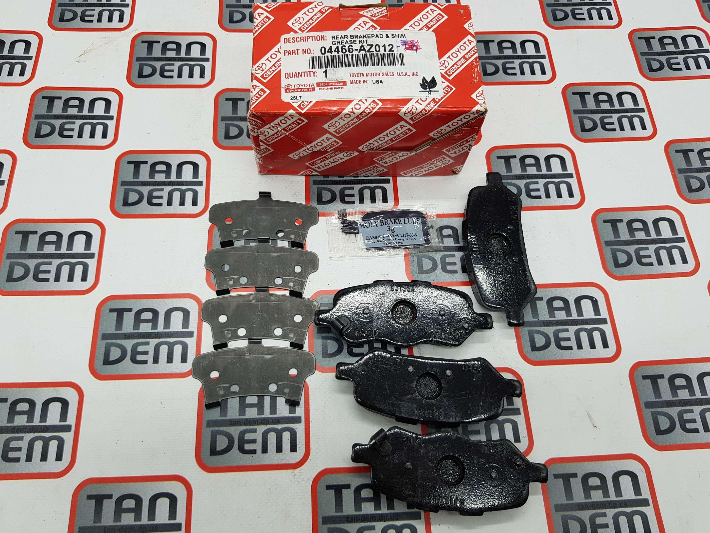 Колодки тормозные задние Venza 04466-AZ012, 04466-0T010