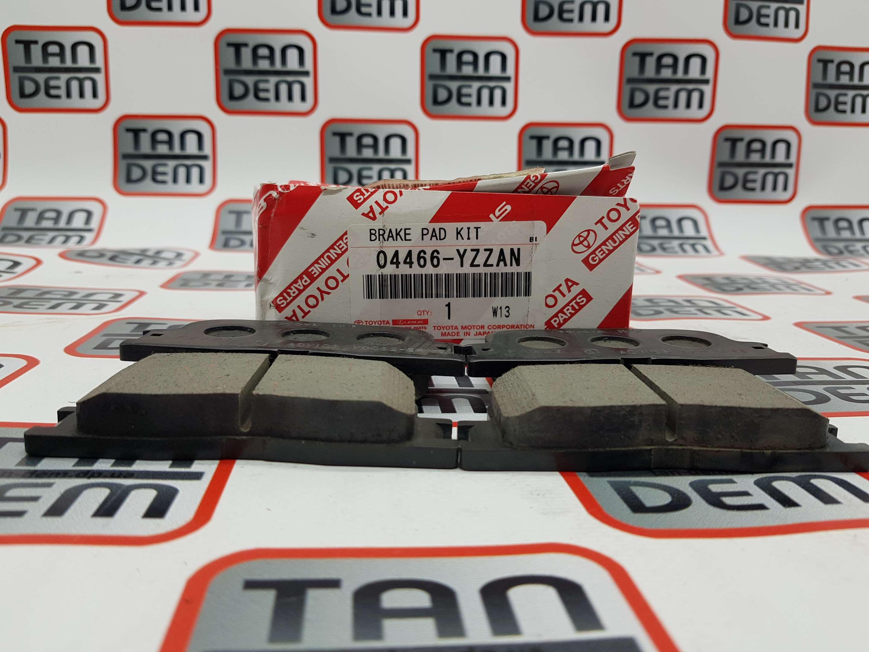 Колодки тормозные задние 04466-YZZAN, 04466-33130, 04466-33100, 04466-33090